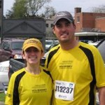 Kate and Ben Keefer ran the Ukrop's Monument Ave 10k on March 28, 2009 and raised money for the Mary Claire Satterly Foundation.