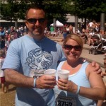Inspired by Mary Claire's spirit, Lisa and Dan Parker ran the Dam to Dam 5k in Des Moines, Iowa on May 30, 2009.