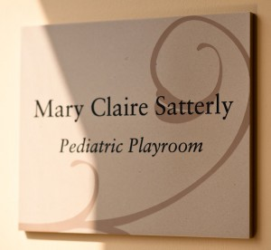 Mary Claire Satterly Pediatric Playroom